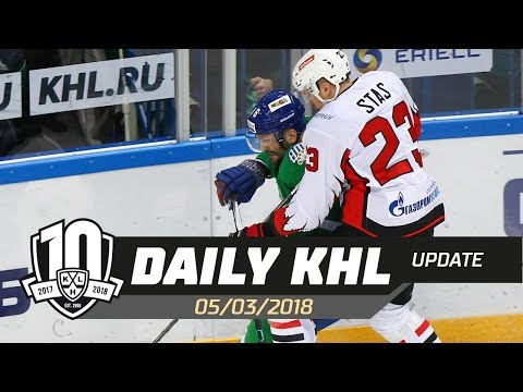 Daily KHL Update - March 5th, 2018 (English) (видео)