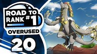 Pokemon Showdown Road to Rank 1: Pokemon Ultra Sun & Moon OU w/ PokeaimMD #20 by PokeaimMD