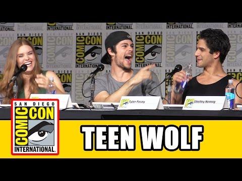 Video Teen Wolf Comic Con 2015 Panel - Tyler Posey, Dylan O'Brien, Holland Roden, Shelley Hennig, Season 6 download in MP3, 3GP, MP4, WEBM, AVI, FLV January 2017