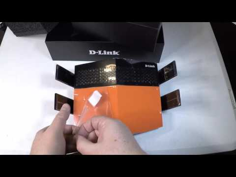 D-Link AC1900 EXO Wi-Fi Router DIR-879 Unboxing Review