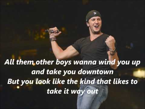 Luke Bryan That's My Kind Of Night with Lyrics