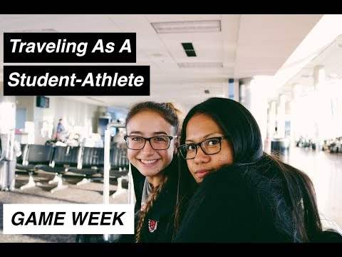 Traveling As A Student-Athlete | Game Week Vlog | Gabrielle Aihara