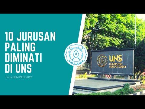 10 Jurusan Paling Diminati di UNS pada SBMPTN 2019