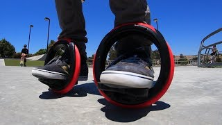 Video SELF-PROPELLED ORBITWHEEL SKATES?! MP3, 3GP, MP4, WEBM, AVI, FLV Agustus 2017