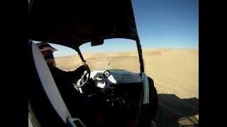 8. Dad's RZR-S in the Dunes