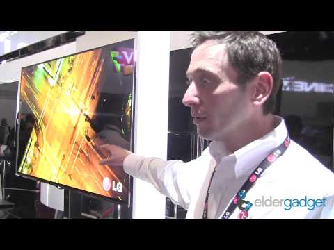 CES 2012 Video: LG 3D OLED TV