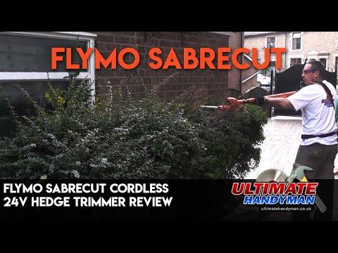 Flymo SabreCut Cordless 24V Hedge trimmer review