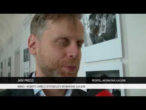 TV Brno 1: 3.11.2017 Romští umělci vystavuji v Moravské galerii