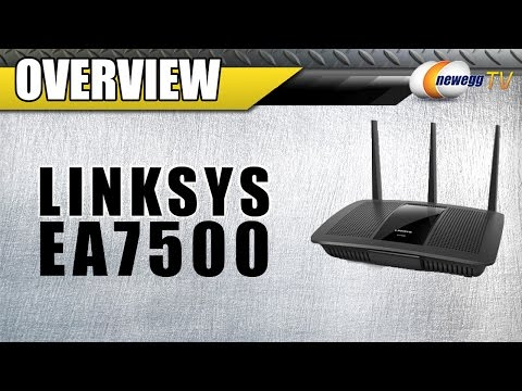 Linksys Max-Stream AC1900 Multi User-MIMO WI-FI Router Overview - Newegg TV