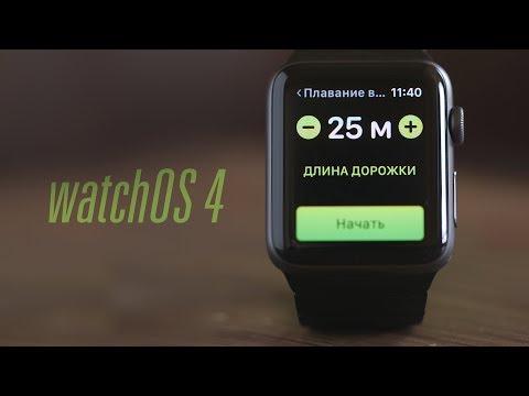 Обновление для Apple Watch – watchOS 4
