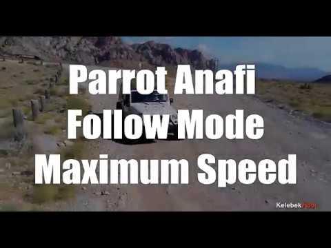 ANAFI Parrot Drone | Katlanabilir Quadcopter Drone 4K HDR Camera