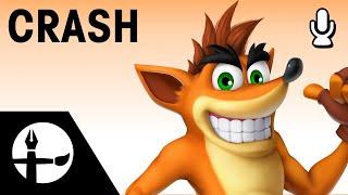 Crash Smashified – Time Lapse Painting!