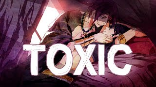 Video Nightcore - Toxic [male] +lyrics MP3, 3GP, MP4, WEBM, AVI, FLV Maret 2018