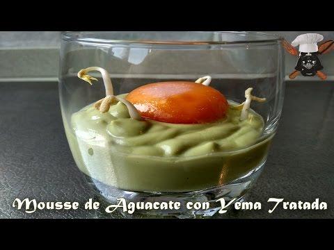 Mousse de Aguacate con Yem…