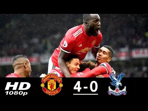 Manchester United vs Crystal Palace (4-0) All Goals & Highlights 30 09 2017 HD