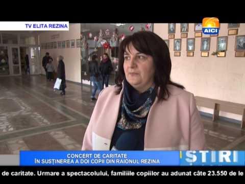AICI TV CONCERT DE CARITATE ÎN SUSȚINEREA A DOI COPII DIN RAIONUL REZINA