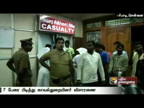 More-than-20-injured-in-attack-during-power-cut-in-Vyasarpadi-7-arrested