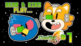 Bear and Bird play Star Fox Zero #1 - All Systems Go