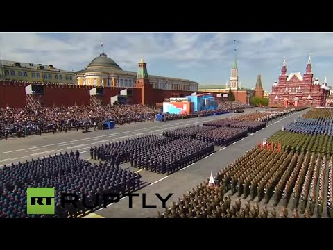 Moscow hosts Victory Day Parade - ENGLISH