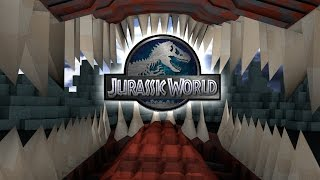 "Minecraft Dinosaurs | Jurassic Craft Modded Survival Ep 55! ""SAVING JURASSIC PARK"""