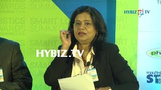 Vinita Venkatesh, Director Krishnapatnam port container Terminal, Smart Logistics Summit and Awards 2017► Watch More Business Videos at Indias Leading online business channel http://www.hybiz.tv► Like us on Facebook:  http://www.facebook.com/hybiz► Watch More Videos on http://www.youtube.com/hybiztv► Subscribe to HYBIZTV Channel:  goo.gl/EEXqfu