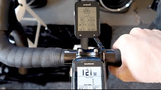 COMPARING POWER METER READINGS... and trainer firmware testing. The method I use to ensure my power readings are accurate. This involves using two ...