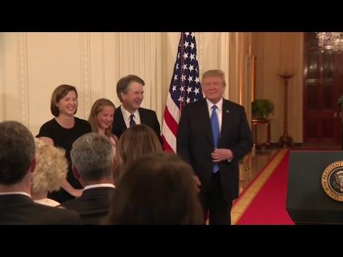 Donald Trump announces supreme court nominee  - live