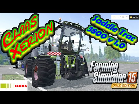 Claas Xerion Saddle Trac 3800 v1.0