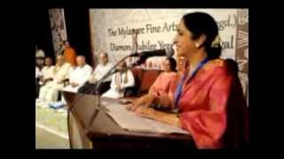 Aruna Sairam's Speech