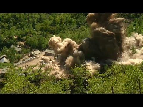 Nordkoreanisches Atomtestgelände anscheinend zerstört