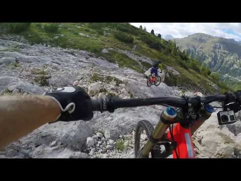 A Mountain Biker's Dream: Dolomites Descent | My POV w/ Richie Schley EP 7 (видео)