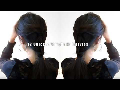 , title : '12 Quick & Simple Hairstyles'