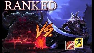 Gameplayzinha de Master Yi contra o campeão novo ORNN na jungle. Em busca pelos 3 pontos,trabalhando forte com o time...