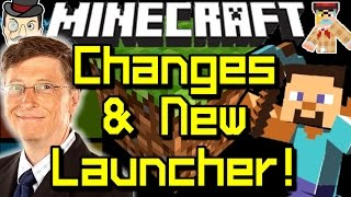 Minecraft News NEW LAUNCHER - The Changes Begin!
