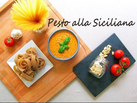 video ricetta: il pesto alla siciliana