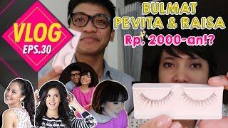 Video VLOG#30 BULMAT PEVITA & RAISA Rp. 2000-an!? ( BUBAH MAKEUP TUTORIAL ) MP3, 3GP, MP4, WEBM, AVI, FLV Oktober 2017