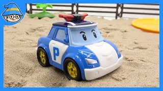 Video Robocar Poli rescue Amber, Roy from mouth monster toy. | SHIM MP3, 3GP, MP4, WEBM, AVI, FLV Agustus 2018