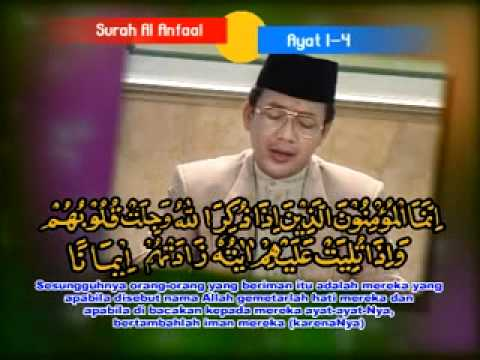 Amazing Asy-Syaikh KH MUAMMAR ZA - SURAT AL ANFAL.mp4 Part 2