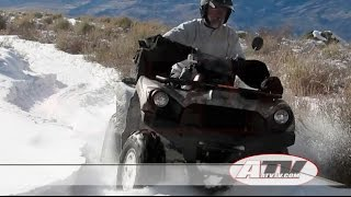 8. 2016 Kawasaki Brute Force 750 EPS Test - ATVTV Test Video