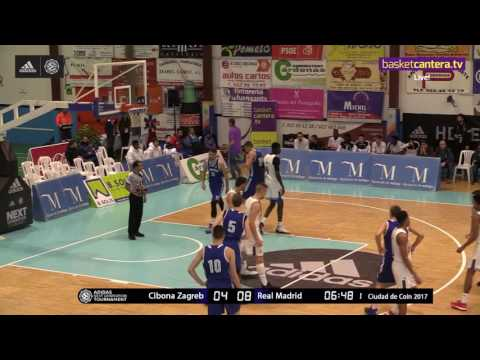 ANGT Coin: U18 Cibona Zagreb vs. U18 Real Madrid - Full Game