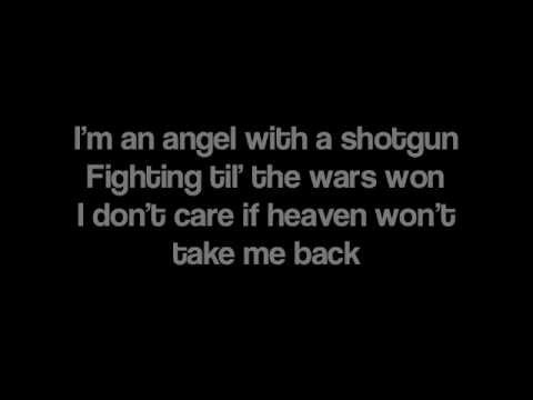 Angel With A Shotgun by The Cab [Lyrics] (видео)