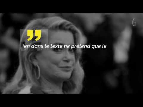 Catherine Deneuve s'excuse après sa tribune signée sur le harcèlement sexuel