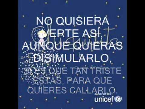 Chiquitita(A Favor De UNICEF)-Amaia Montero Con Letra