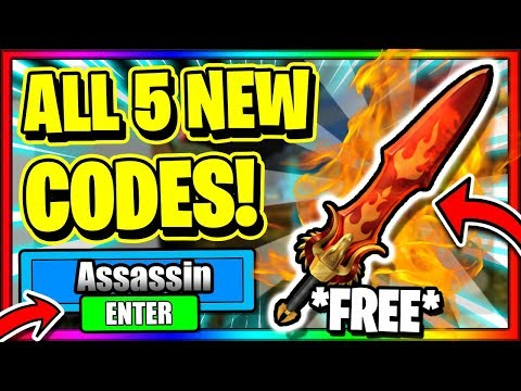 (MAY 2020) ALL *5* NEW SECRET OP WORKING CODES! Roblox Assassin