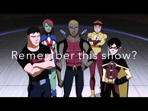 YOUNG JUSTICE SEASON 3 ANNOUNCEMENT!!!
