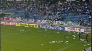 Sturms Meisterspiel gegen Innsbruck (1999)