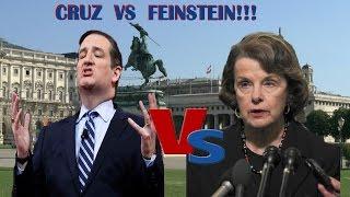 BAD NEWS - Ted Cruz Utterly Destroys Senator Dianne Feinstein