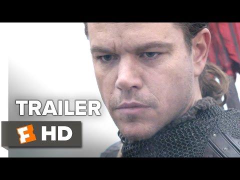 The Great Wall Official Trailer 1 (2017) - Matt Damon Movie