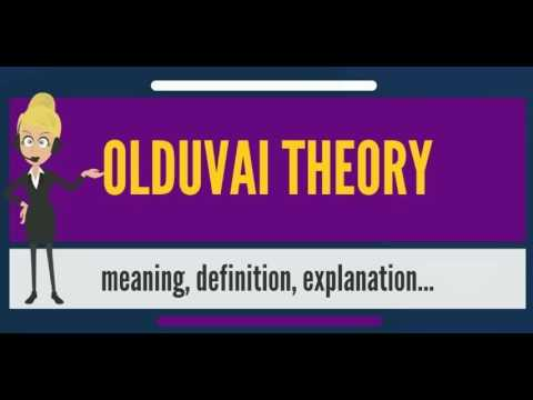 What is OLDUVAI THEORY? What does OLDUVAI THEORY mean? OLDUVAI THEORY meaning & explanation