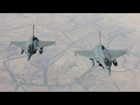 La France procède à ses premières frappes contre l'État islamique en Irak